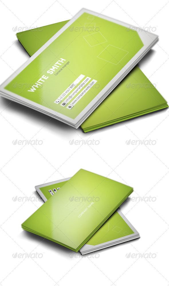 GraphicRiver Modern Business Card 607394