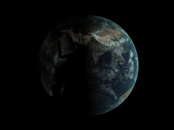 3DOcean Realistic Earth Globe 5840792