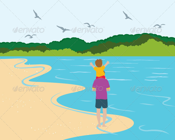 GraphicRiver First Time to the Sea 5840812