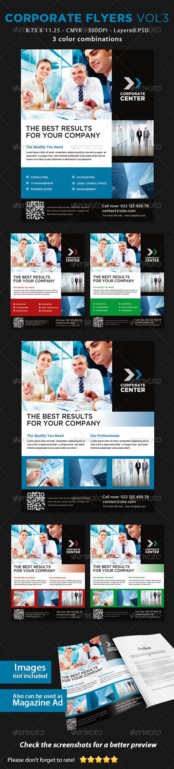 GraphicRiver Corporate Flyers Vol3 5840825