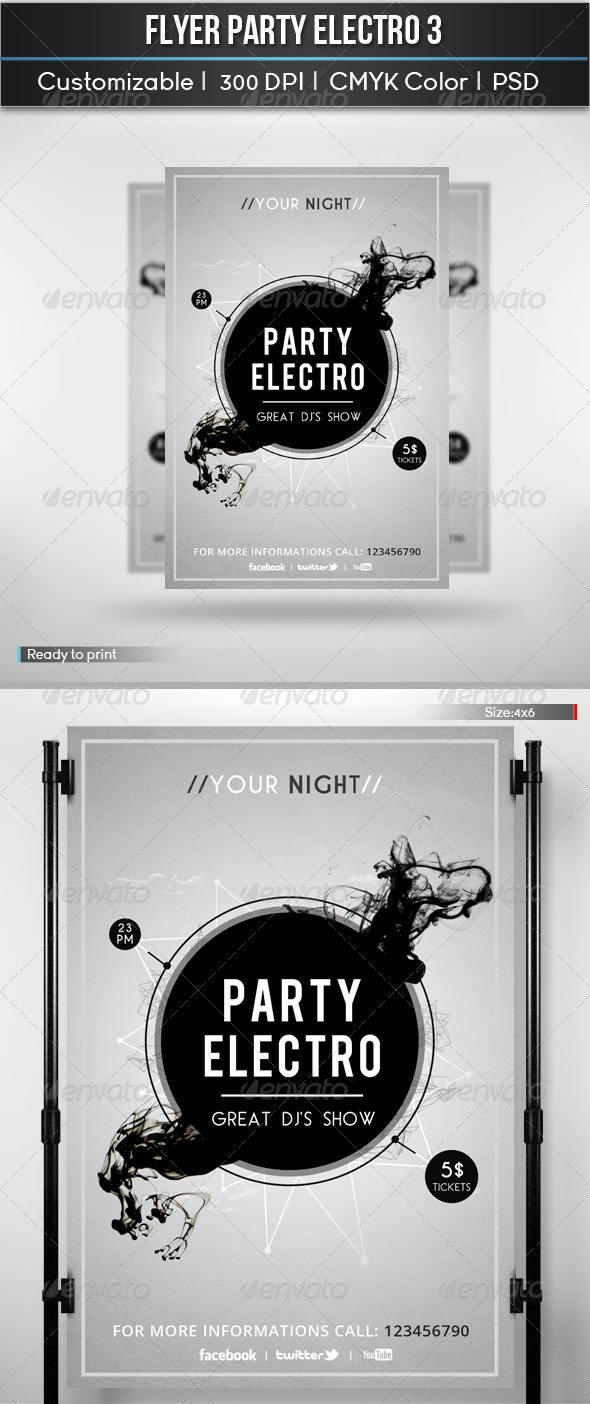 GraphicRiver Electro Party 5841015