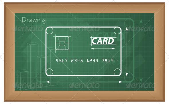 GraphicRiver Explaining Credit Card Mechanism Illustration 5841074