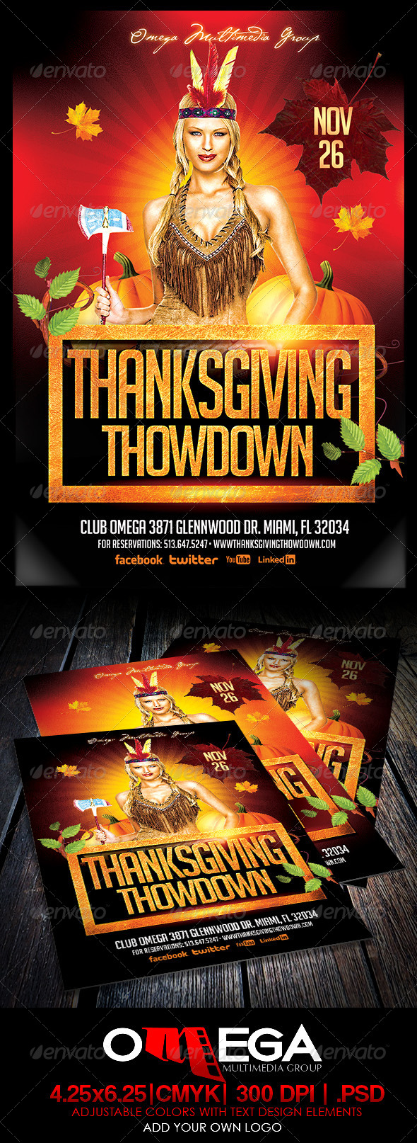 GraphicRiver Thanksgiving Thodown 5841758