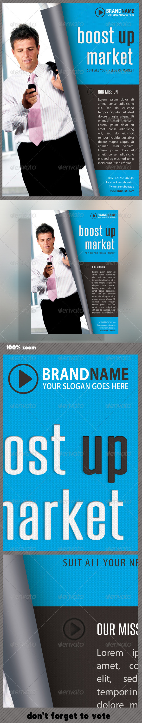 GraphicRiver Corporate Product Flyer 30 5841839