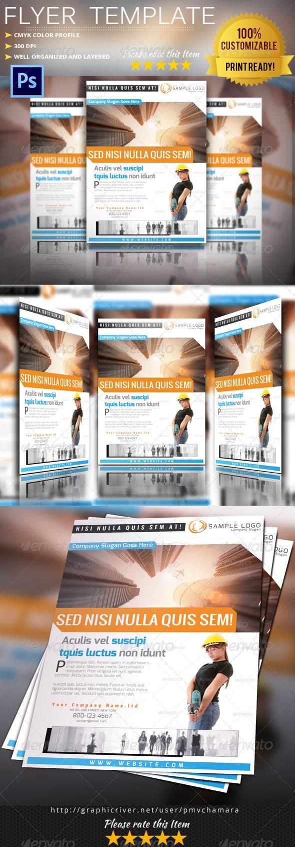 GraphicRiver Multipurpose Flyer Template Vol.10 5551716