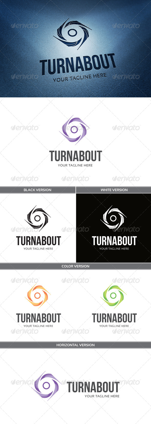 GraphicRiver Turn About 5843936