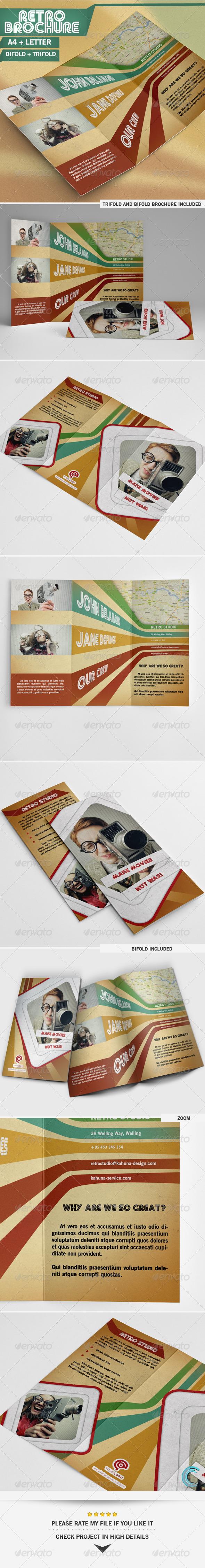 Retro Brochure - Portfolio Brochures