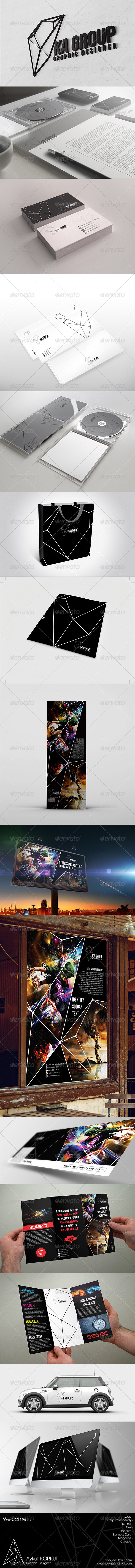 GraphicRiver Ka Group Corporate Identity Package 5741837