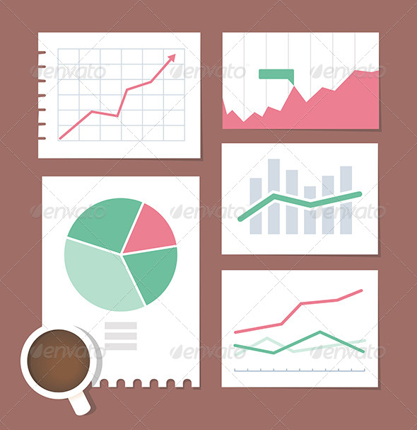 GraphicRiver Business Chart Set 5846697