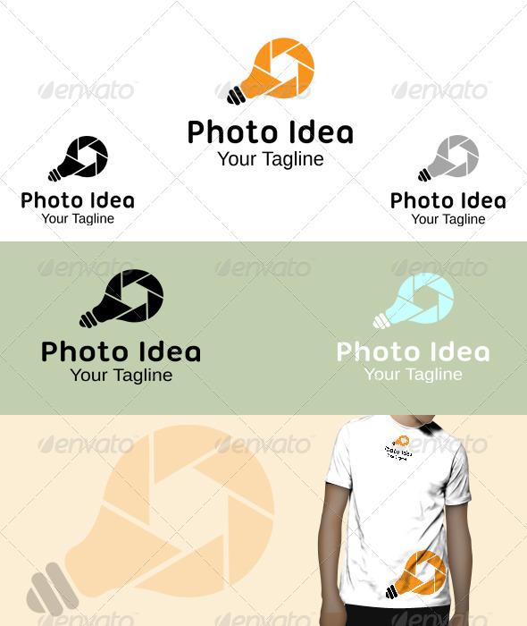GraphicRiver Photo Idea Logo 5846710