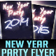 New Year 2014 & 2015 Party Flyer Template - GraphicRiver Item for Sale