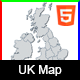 Interactive UK Map - HTML5 - CodeCanyon Item for Sale