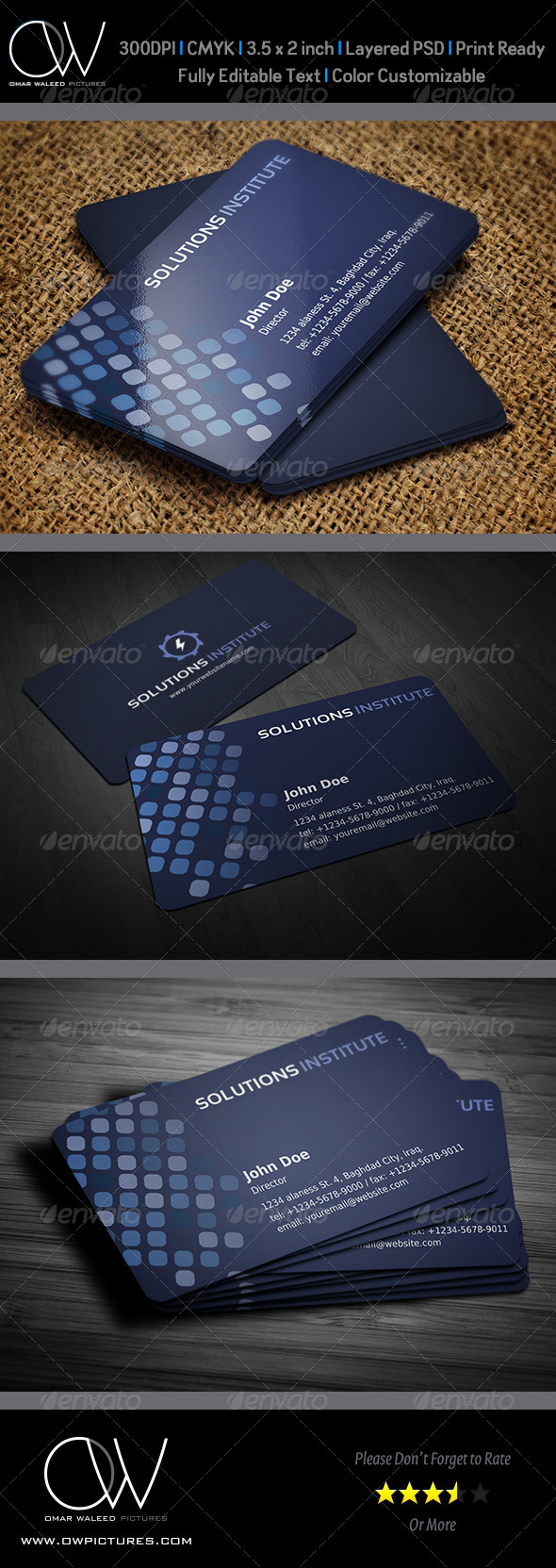 Corporate Business Card Template Vol.36 - Creative Business Cards