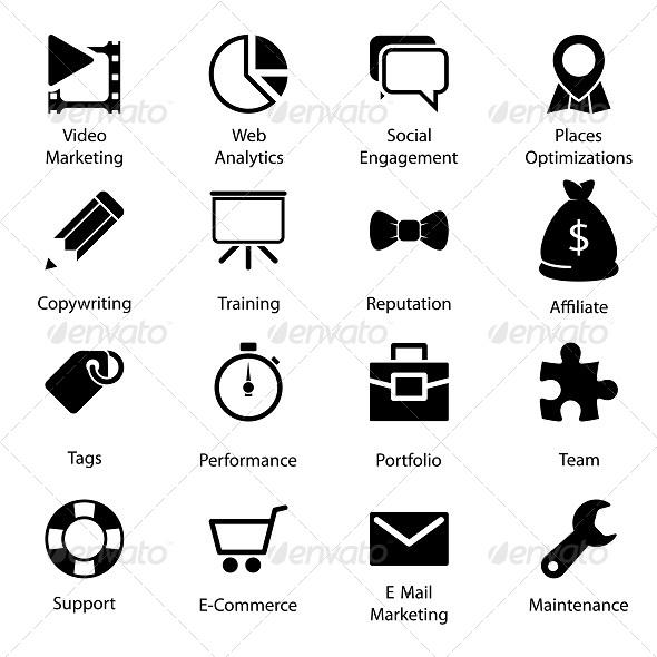 GraphicRiver Seo Icons Vol 2 5847855