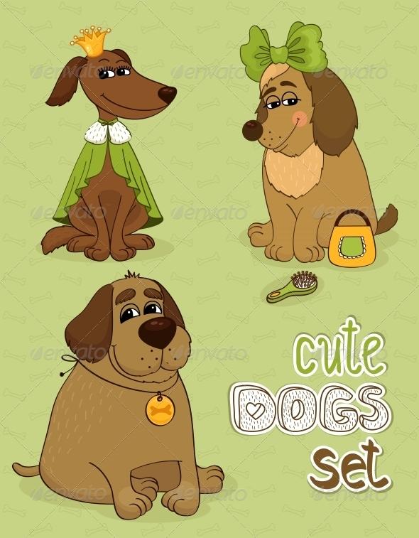 GraphicRiver Dogs 5848865