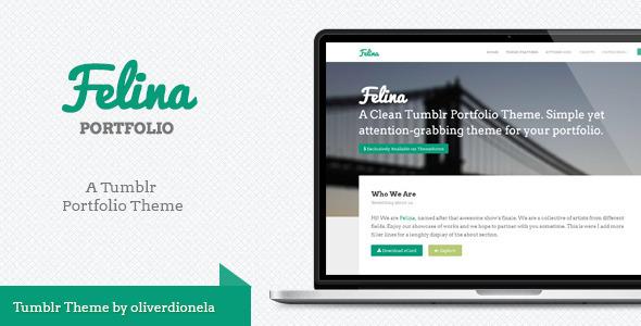 ThemeForest Felina Tumblr Portfolio Theme 5849107