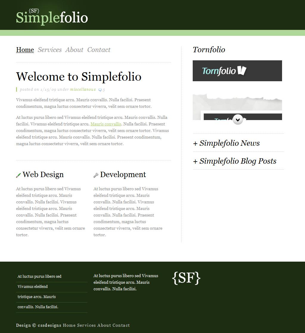Simplefolio 7 in 1