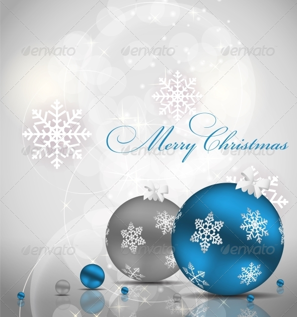 GraphicRiver Abstract Christmas and New Year Background 5850211