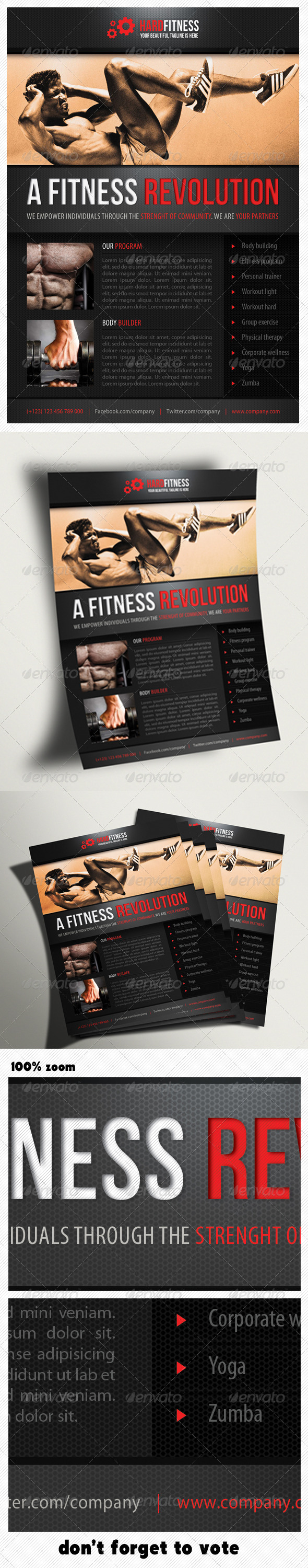 GraphicRiver Sport Multipurpose Flyer 08 5850510