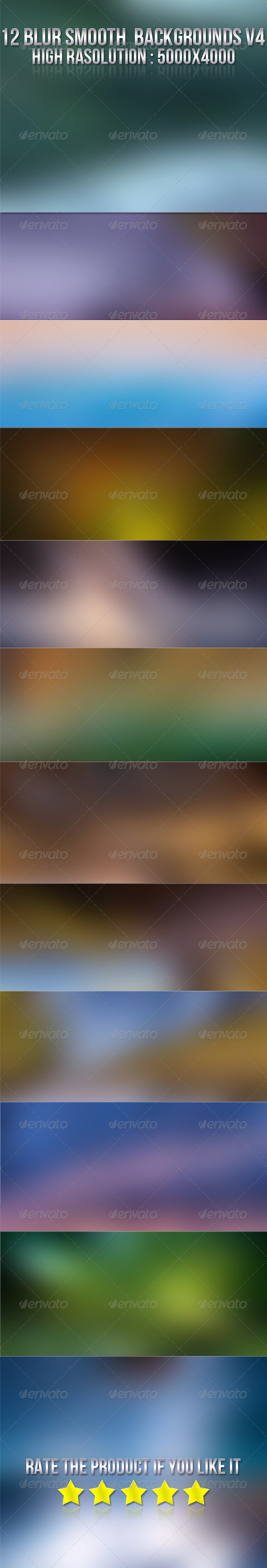 GraphicRiver 12 Smooth Blur Backgrounds V4 5850514