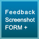 Feedback screenshot form + - CodeCanyon Item for Sale