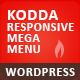 Kodda - Responsive WordPress Mega Menu  - CodeCanyon Item for Sale