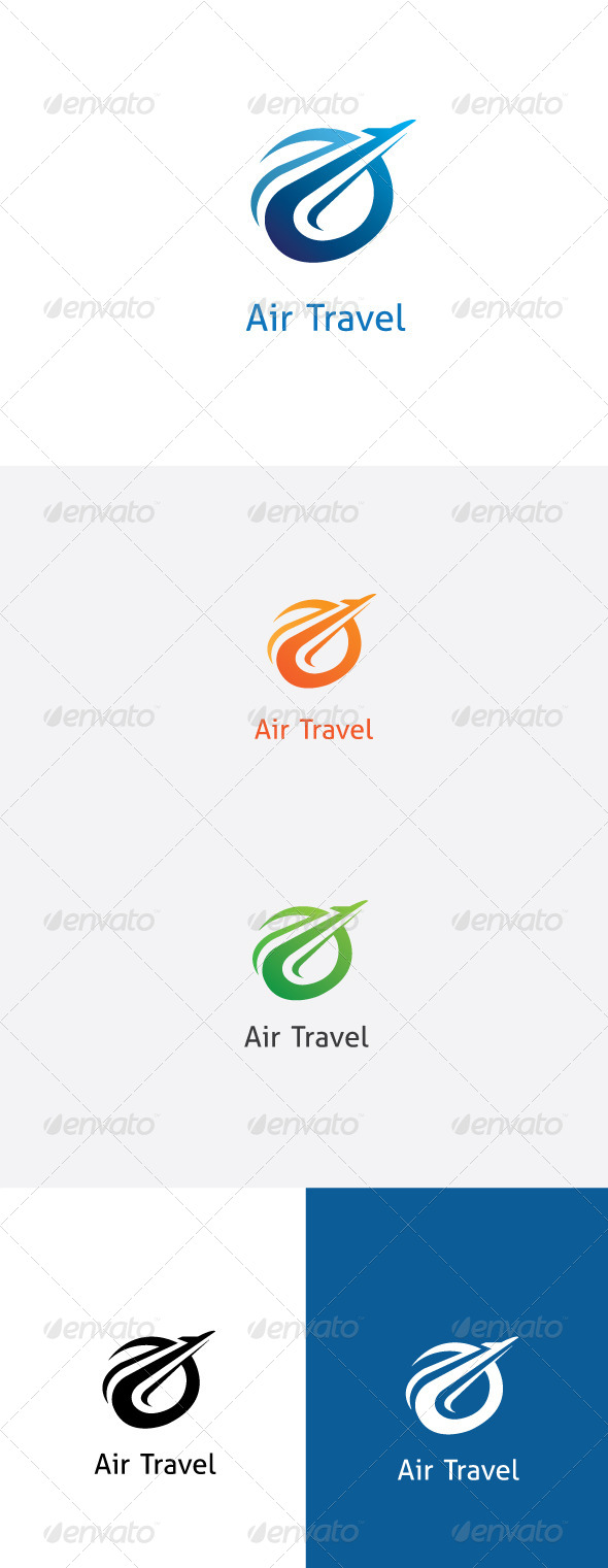 GraphicRiver Air Travel Logo Template 5852182