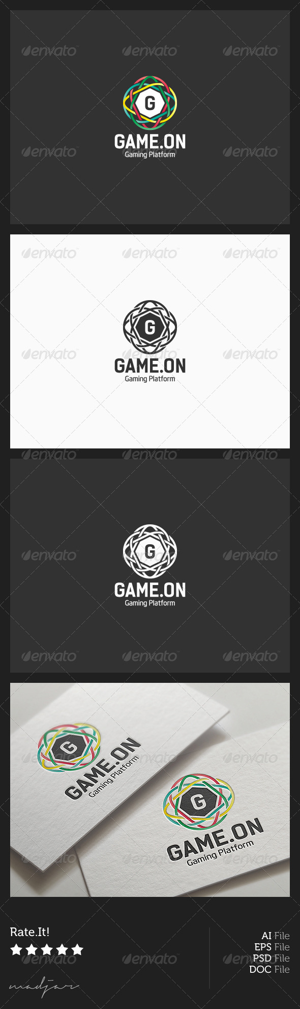 GraphicRiver Gaming Logo 5852192
