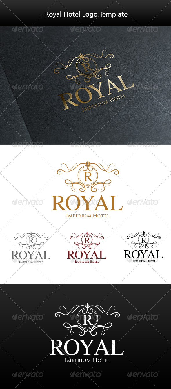 GraphicRiver Royal Hotel Logo Template 5852852
