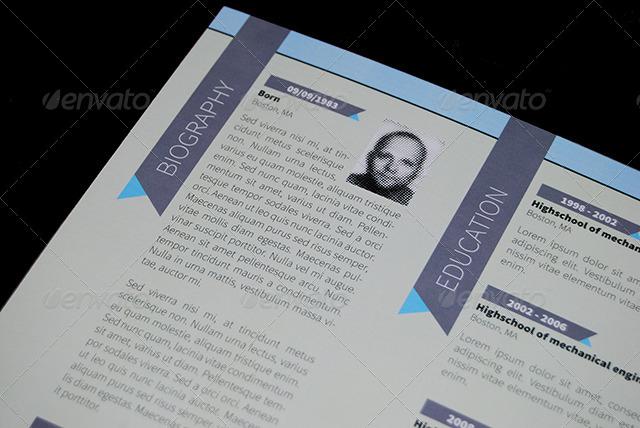 personal resume folder by krneki9 graphicriver