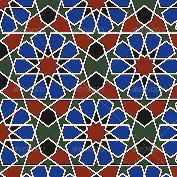 Arabesque seamless pattern - Stock Photo - Images