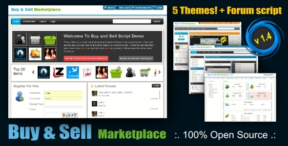 Buy And Sell Marketplace Script v1.4 | CodeCanyon PHP Script