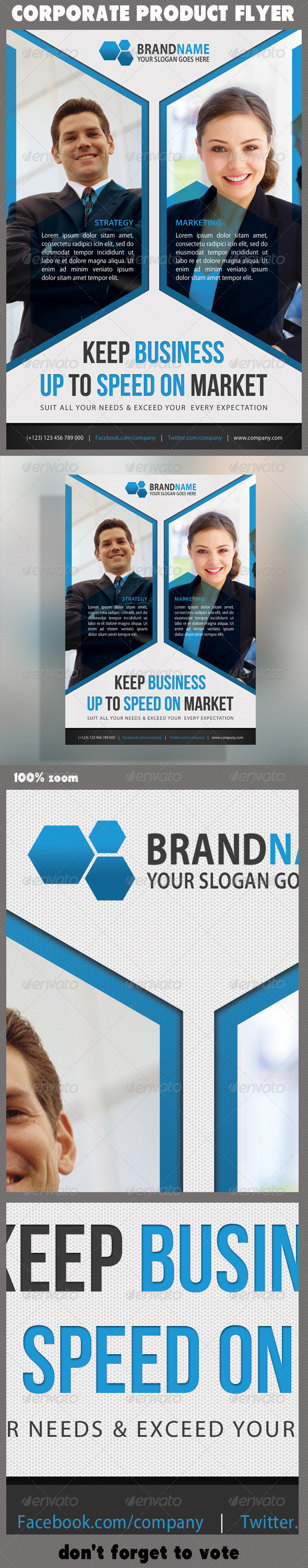 GraphicRiver Corporate Product Flyer 33 5853230