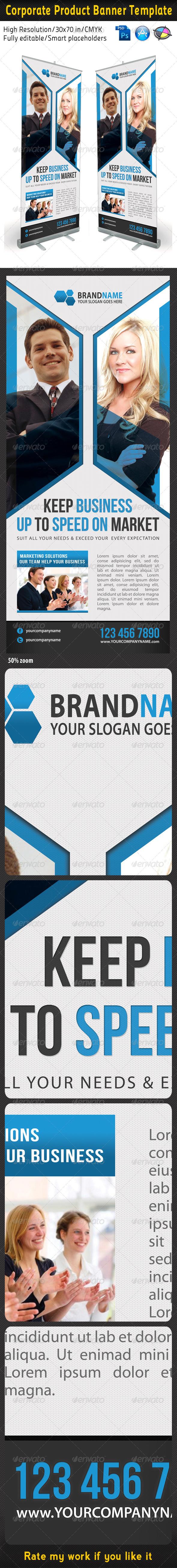 GraphicRiver Corporate Multipurpose Banner Template 20 5853466