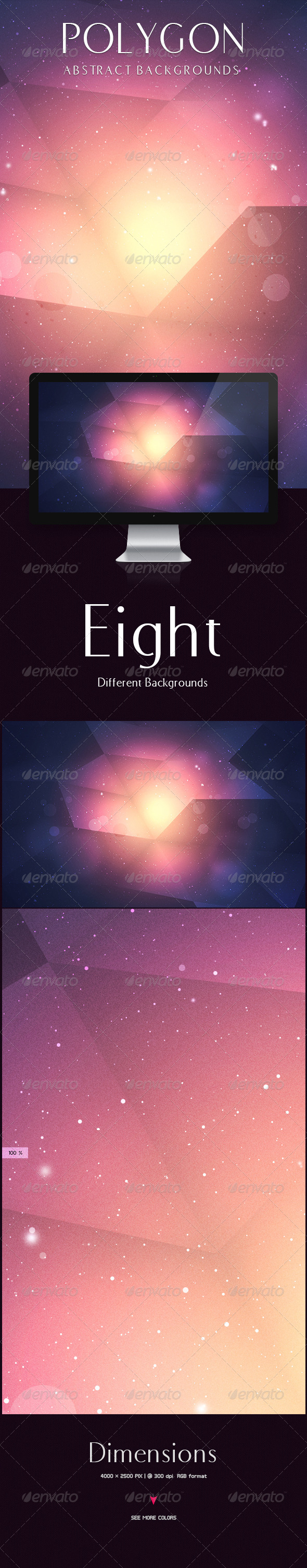 GraphicRiver Polygon Backgrounds 5853498