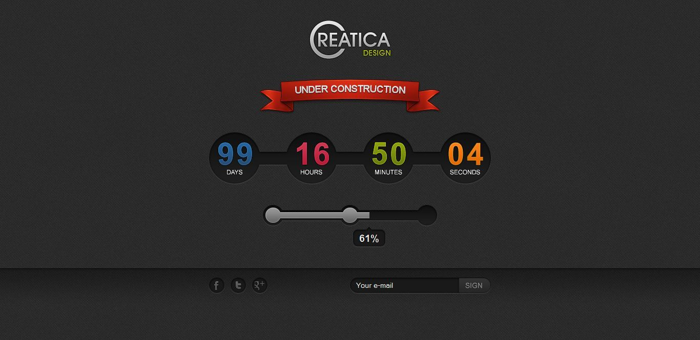 Creatica - Under Construction Theme