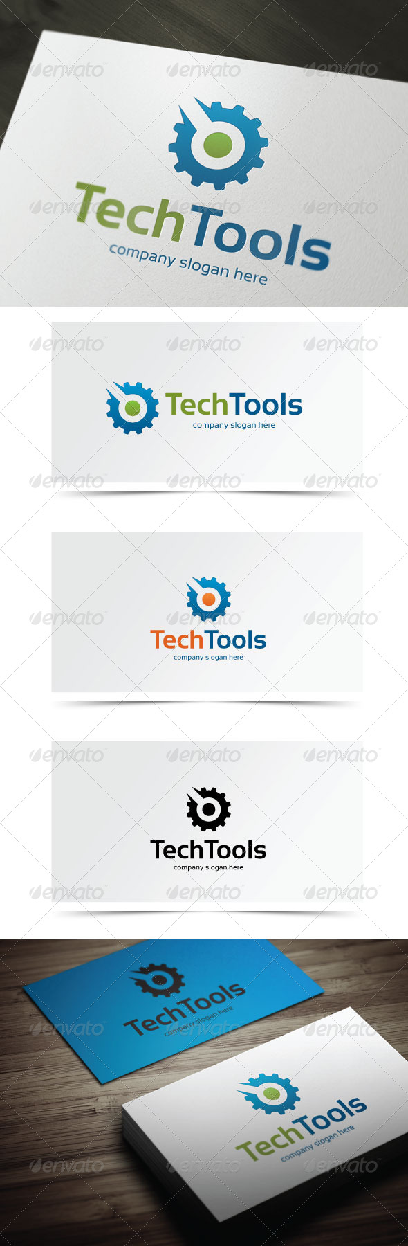 GraphicRiver Tech Tools 5853677