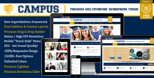 Campus | Premium Multipurpose WordPress Theme