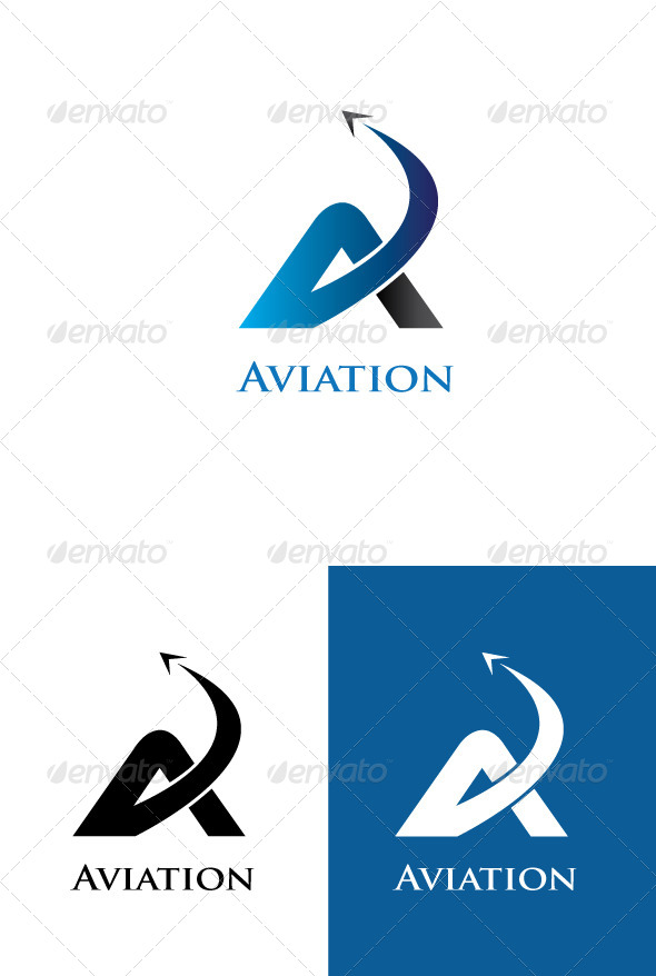 GraphicRiver A Latter Logo Template 5854487