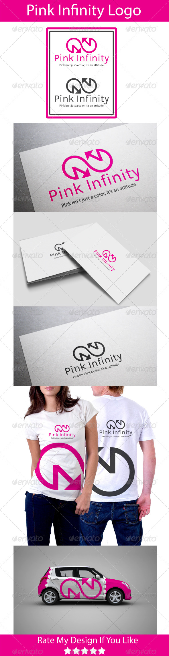 GraphicRiver Pink Infinity 5854653