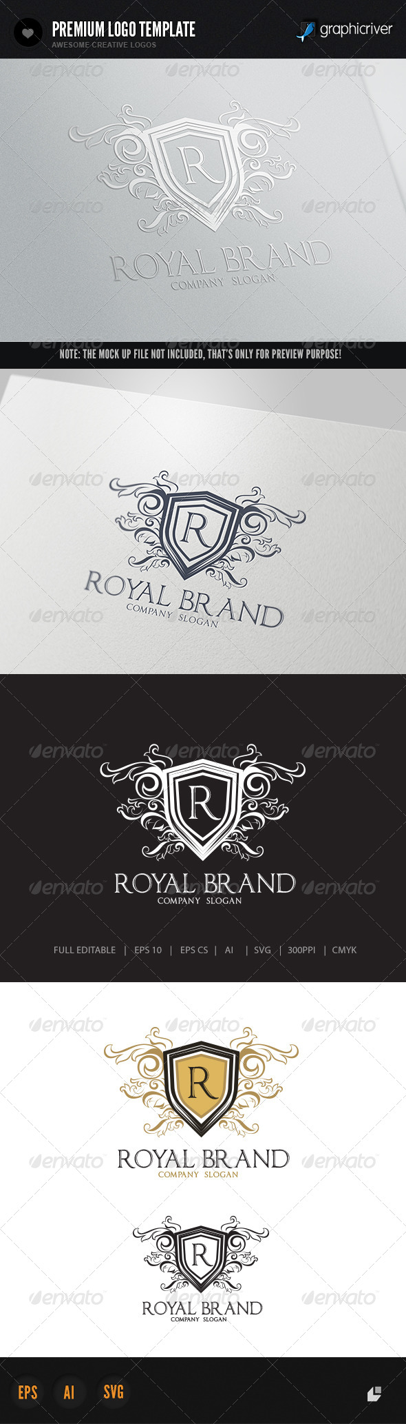 GraphicRiver Royal Brand 5854655