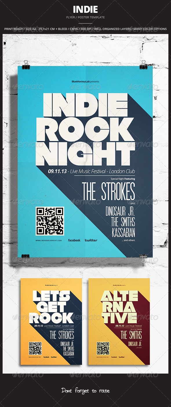 GraphicRiver Indie Flyer Poster 12 5854663