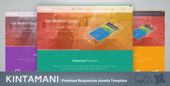 Kintamani - Responsive Multi-Purpose Joomla Theme - Joomla CMS Themes