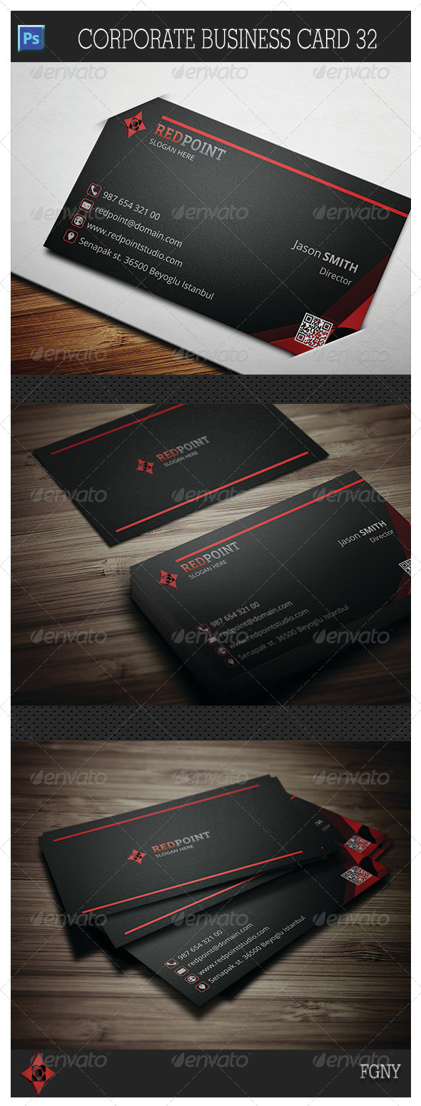 Corporate Business Card 32