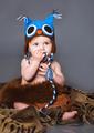 Little baby in winter hat - PhotoDune Item for Sale
