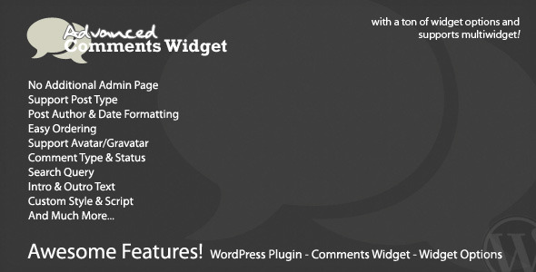 CodeCanyon Advanced Comments Widget 608475