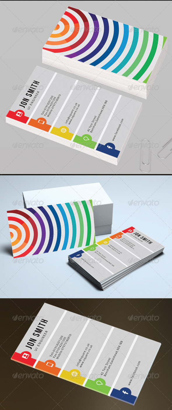 GraphicRiver Personal Business Card 5856572