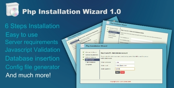 CodeCanyon Php Installation Wizard 5856659