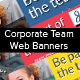 Corporate Team Web Banners - GraphicRiver Item for Sale