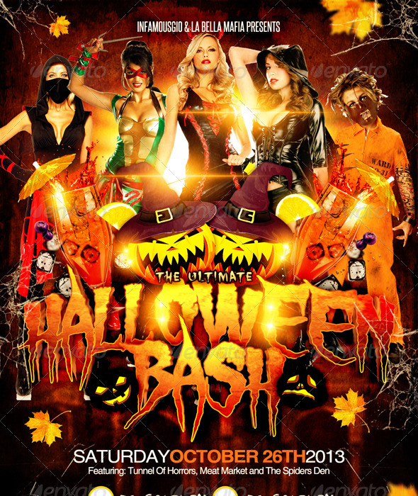 GraphicRiver Halloween Bash RGB Mode 5699249